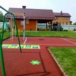 Детская площадка частного дома. Приморский район, 2016г.
