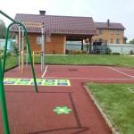 детская площадка частного дома Приморский р-он