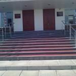 г. Северодвинск, ул. Ломоносова, д.107а (спустя полгода решили закрыть крыльцо полностью)