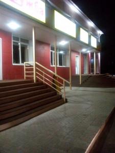 входная группа ресторана, Комсомольская, д.59