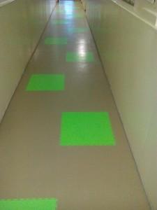 коридор из модулей Пластфактор в детском саду