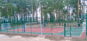 спортплощадка универсальная г.Шенкурск